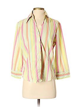 Millenium Long Sleeve Button-Down Shirt Size M