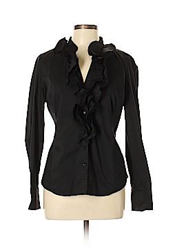 White House Black Market Long Sleeve Button-Down Shirt Size 12