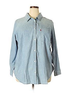 Levi's Long Sleeve Button-Down Shirt Size 2X (Plus)