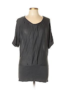 Ann Taylor Factory Short Sleeve Silk Top Size XL
