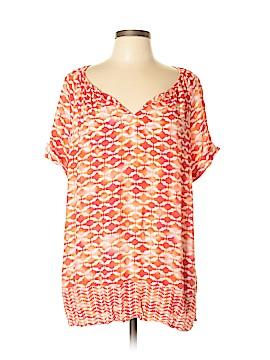 J.jill Short Sleeve Blouse Size L