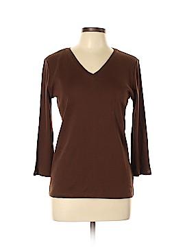 Anne Klein Long Sleeve T-Shirt Size L