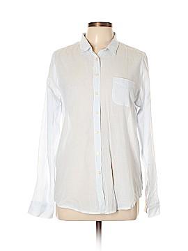 Maison Scotch Long Sleeve Button-Down Shirt Size Lg (3)