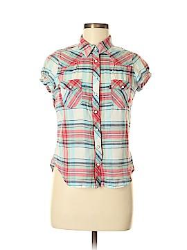 Levi's Short Sleeve Button-Down Shirt Size M