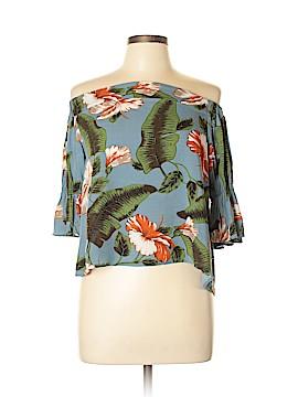 Lulu's 3/4 Sleeve Blouse Size L