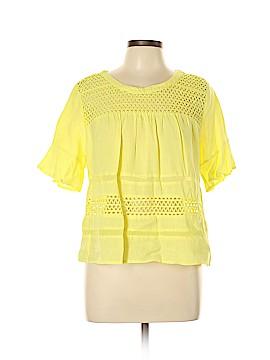 Ark & Co. Short Sleeve Blouse Size L