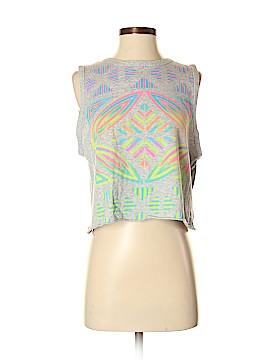 Aqua Sleeveless T-Shirt Size XS