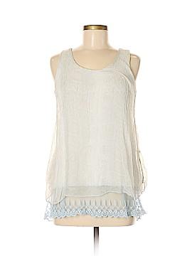 Carla Conti Sleeveless Silk Top Size M