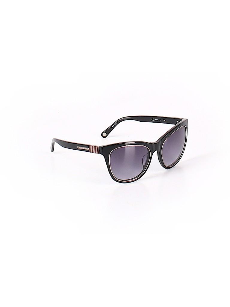 97329be6186 Henri Bendel Solid Black Sunglasses One Size - 73% off