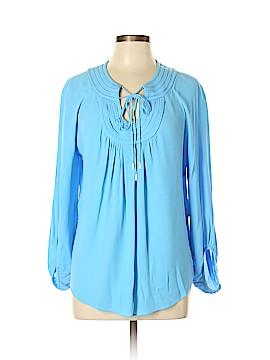Diane von Furstenberg Long Sleeve Blouse Size 10