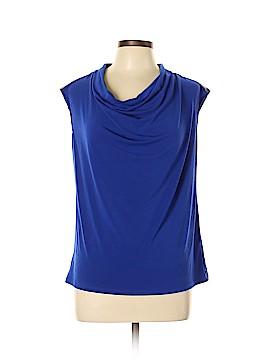 Ann Taylor LOFT Outlet Short Sleeve Blouse Size L