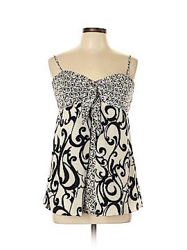 White House Black Market Sleeveless Silk Top Size 10