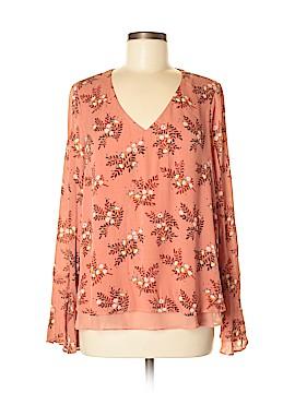 LC Lauren Conrad Long Sleeve Blouse Size M
