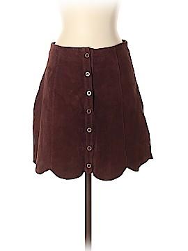 Ecote Leather Skirt Size 2