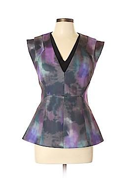 Rebecca Taylor Short Sleeve Blouse Size 12