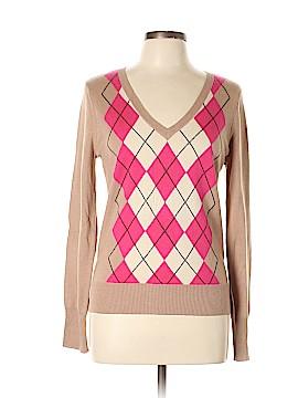 Saks Fifth Avenue Silk Pullover Sweater Size L
