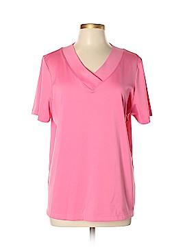 Susan Graver Short Sleeve Top Size L