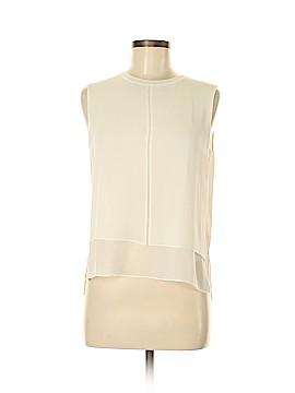 Vince. Sleeveless Silk Top Size M