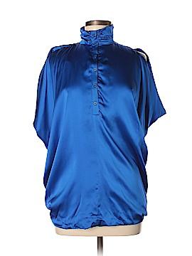 Yigal Azrouël New York Short Sleeve Silk Top Size 6