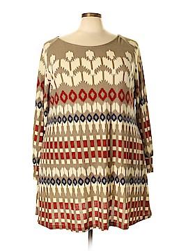 Ice Silk Casual Dress Size 3Xl (Plus)