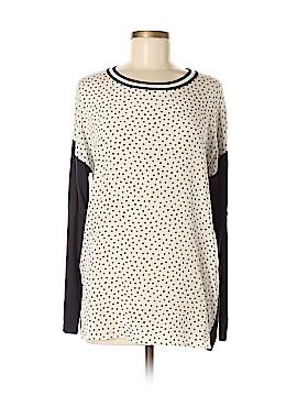 Weekend Max Mara Long Sleeve Silk Top Size M
