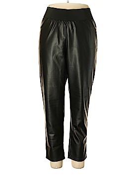 Society Faux Leather Pants Size 18 - 20 (Plus)