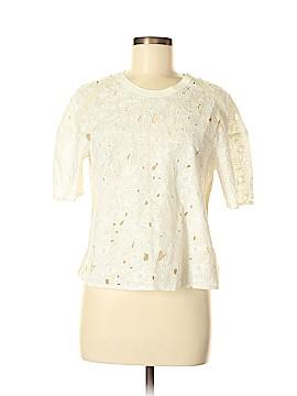 Rebecca Taylor Short Sleeve Blouse Size 6