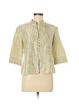 Armani Collezioni 3/4 Sleeve Silk Top Size 8