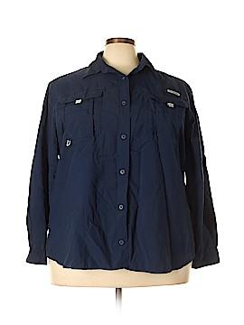 Columbia Long Sleeve Blouse Size 3X (Plus)