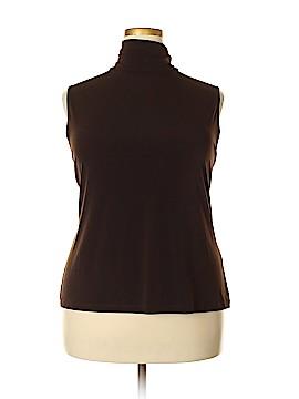 Laura Ashley Sleeveless Top Size 2X (Plus)