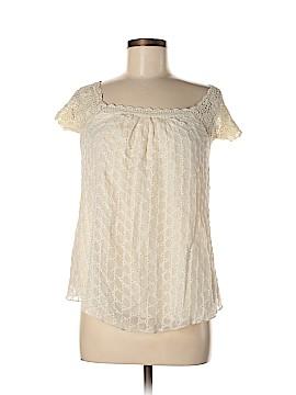 Odille Short Sleeve Silk Top Size S