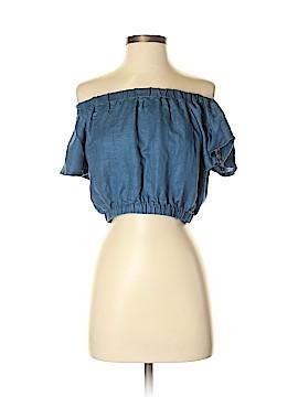 Lush Short Sleeve Blouse Size S