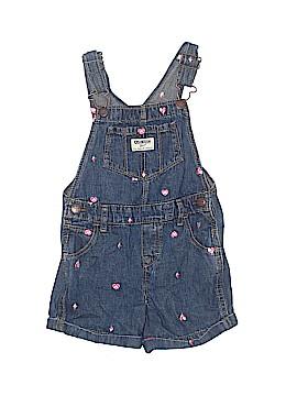 OshKosh B'gosh Overall Shorts Size 4T