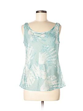 Lafayette 148 New York Sleeveless Silk Top Size 8