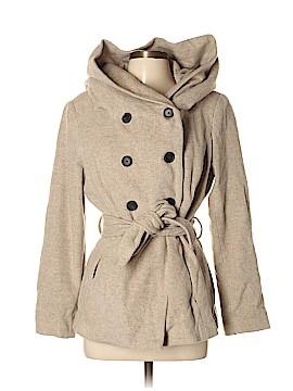 Zara Basic Coat Size L