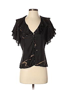 Ralph Lauren Short Sleeve Silk Top Size 4