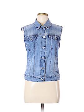 Style&Co Denim Vest Size M