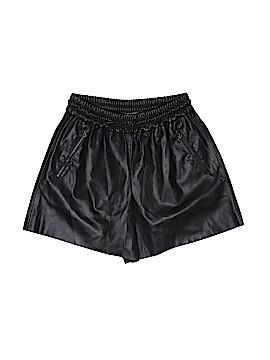 Zara Faux Leather Shorts Size XS