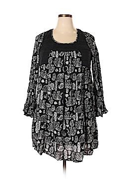 Allison Brittney 3/4 Sleeve Blouse Size 1X (Plus)