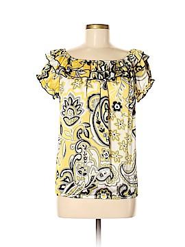 Unyx Short Sleeve Blouse Size M