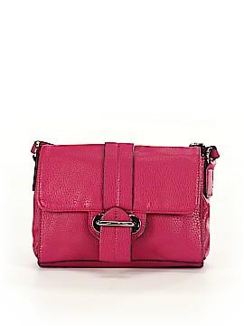Cosmopolitan Leather Crossbody Bag One Size
