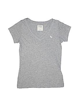 Abercrombie & Fitch Short Sleeve Blouse Size L (Tots)