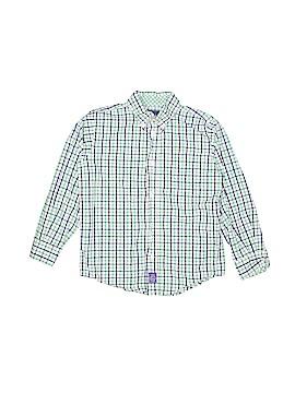 Ciamarco Long Sleeve Button-Down Shirt Size 6 - 7