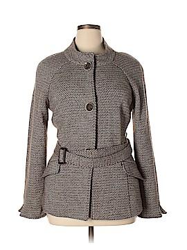 Lafayette 148 New York Wool Coat Size 14