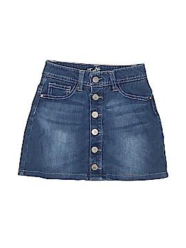 Justice Denim Skirt Size 7