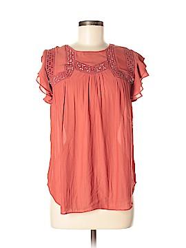 Ann Taylor Factory Short Sleeve Blouse Size XS