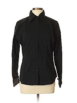 David Lerner Long Sleeve Button-Down Shirt Size L