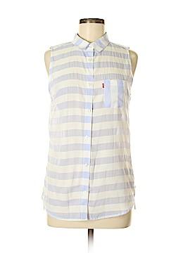 Levi's Sleeveless Button-Down Shirt Size M