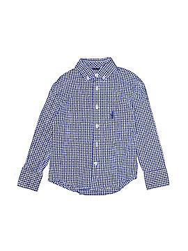 Johnnie-O Long Sleeve Button-Down Shirt Size 4