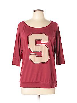 University T 3/4 Sleeve T-Shirt Size L